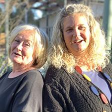 Martine Parsons & Kathy Vivian