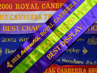 2020 Royal Canberra Show Crafts Expo